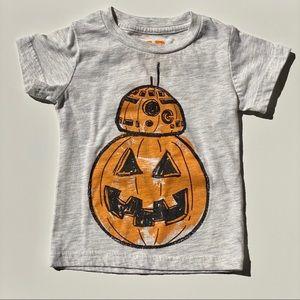 BB8 Halloween 12 Month Tee 🎃